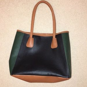 Neiman Marcus leather tote purse